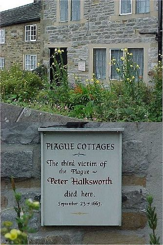 Plague Cottage in Eyam