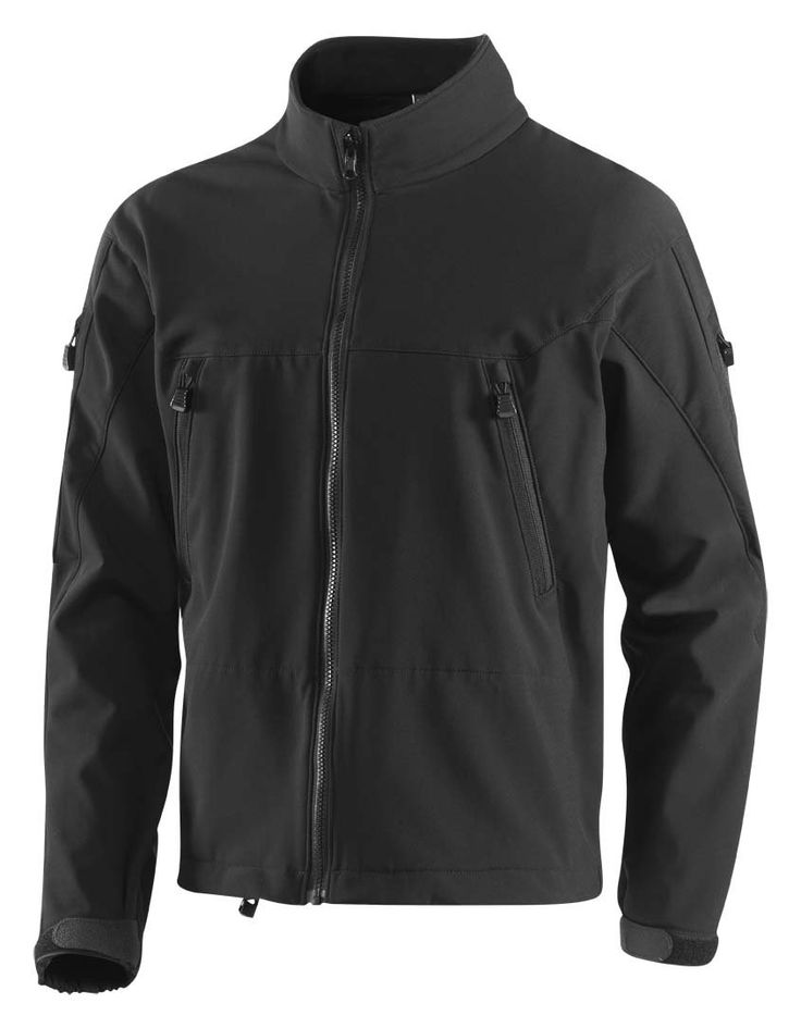 """WaterShed 784TS-2-BK-1XL Stormforce Nylon Mission Adaptable Soft Shell Water Resistant Jacket with Waterproof Front Zipper and 2 Diagonal Chest Pockets, 26"""" Length, Extra Large, Black:Amazon:Industrial & Scientific"""