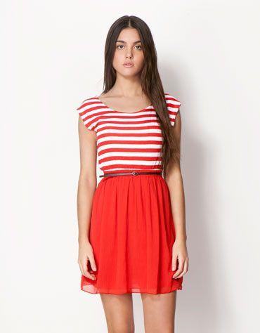 Bershka Ελλάδα - Φόρεμα BSK με άνοιγμα στην πλάτη
