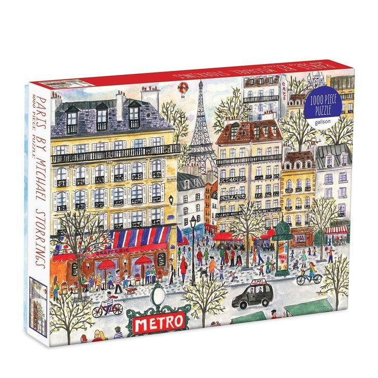 Michael Storrings Paris 1000 Piece Puzzle Brand New Etsy