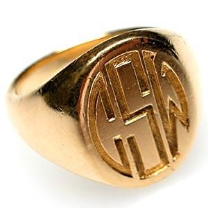 Gold Signet Ring Finally Ready (ARL)! Can't wait to pick it up! MY everyday accessories are MY forever accessories!