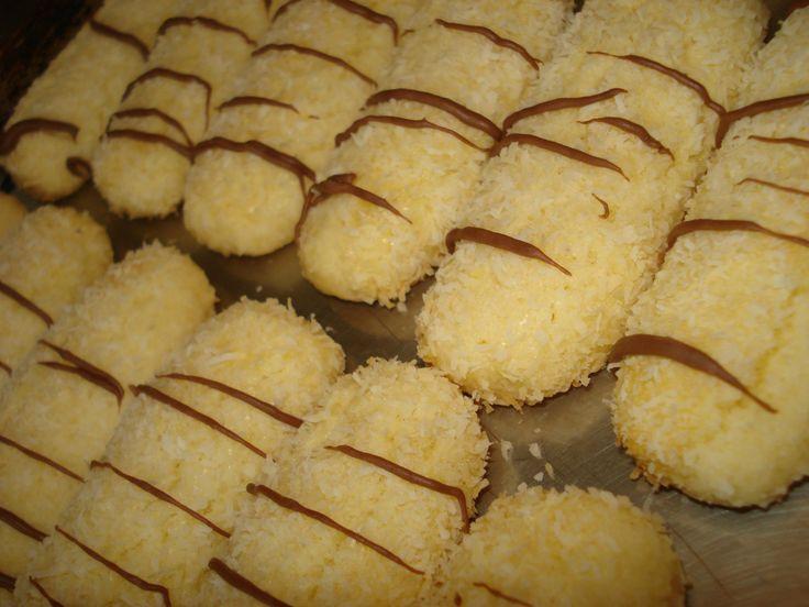 Biscuits fondants à la noix de coco