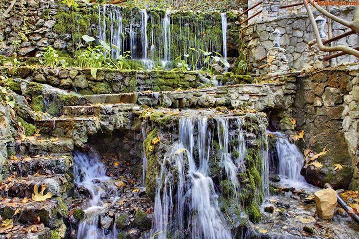 The waterfalls in Argyroupolis