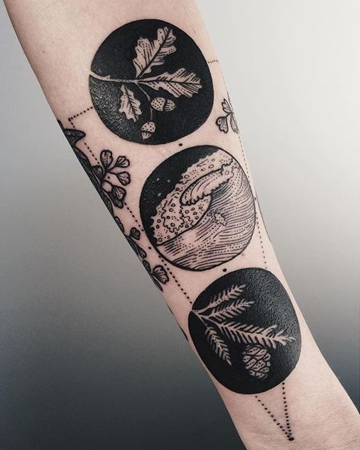 Best 25+ Solid black tattoo ideas on Pinterest   Band ...