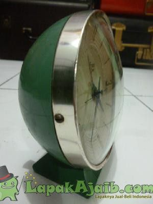 Jam Meja Alarm Antik Present Time No.5118
