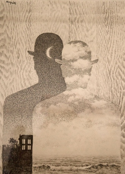 "Rene Magritte - ""The Thought Which Sees"" (1965)"
