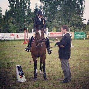 Instagram photo by marcelinamatyszczak - #kucyk #trzeci #w #P #wygrać #piłę #spalinową #na #zawodach #jeździeckich  @ania_bak ❤