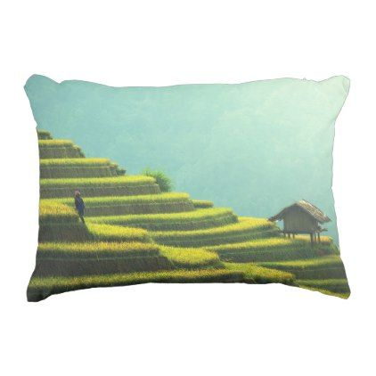#China agriculture rice harvest decorative pillow - #country gifts style diy gift ideas