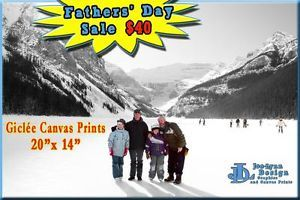 Fathers' Day Special! 1 day only! #canvas #canvasprints #winnipeg