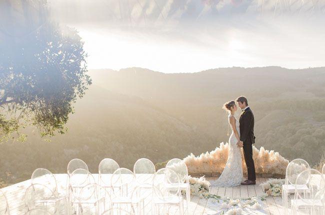 Carmel Valley Ranch wedding ceremony site