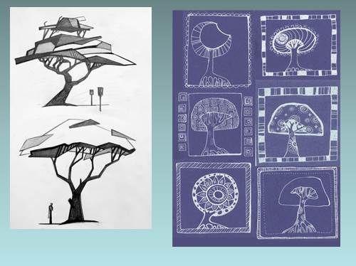 Презентация - Графические возможности в декоративном изображении объектов
