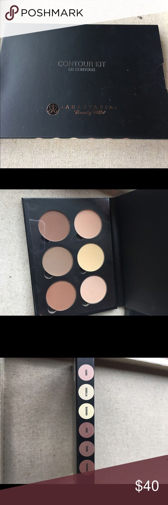 Anastasia contour kit NWT Great contour kit never used. See colors in pictures. Anastasia Beverly Hills Makeup Foundation