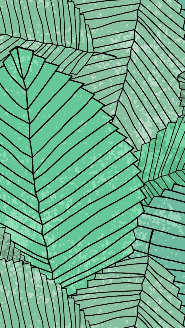 leaves wallpaper pattern - photo #22