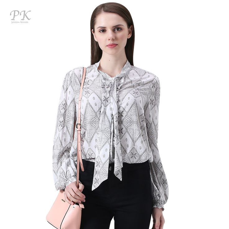 PK vintage women blouses 2017 spring summer print viscose chiffon blouse feminino korean imported-china long sleeve women blouse * This is an AliExpress affiliate pin.  Item can be found  on AliExpress website by clicking the image