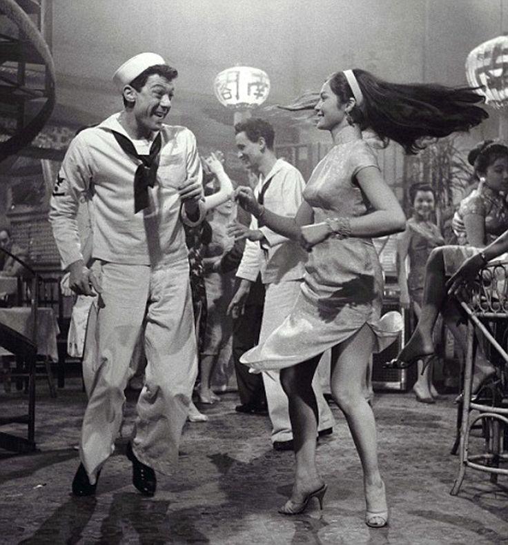 Lionel Blair & Nancy Kwan -The World of Suzie Wong (1960)