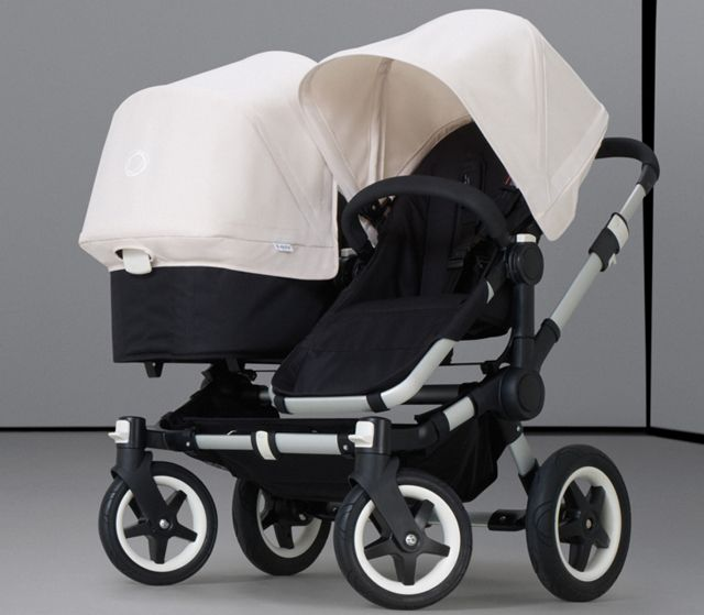 """Bugaboo's """"Donkey"""" Double-Stroller Is a Siamese Dream 