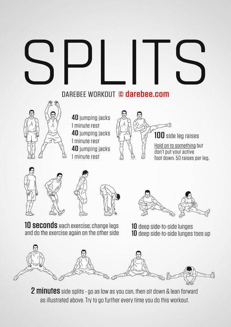 Splits Workout – #Splits #Workout