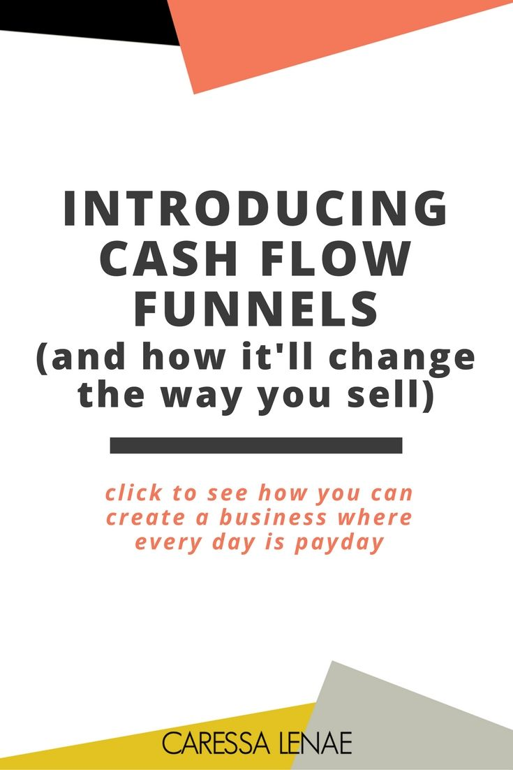 Ever wonder how you can leverage the power of passive income to generate in your business daily? Learn how you can create a sales system that runs on autopilot to increase your revenue and income streams through Cash Flow Funnels. via @CaressaLenae