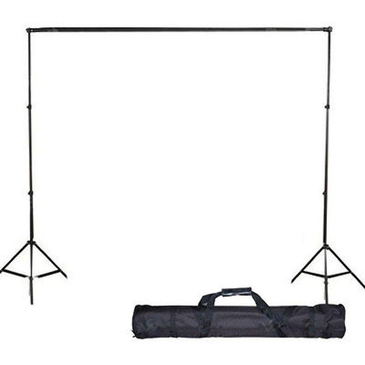$27....10Ft Adjustable Background Support Stand Photo Backdrop Crossbar Kit Photography #LusanaStudio