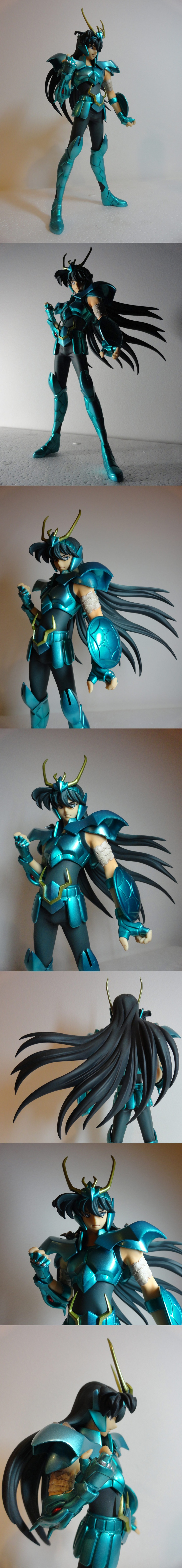 Dragon Shiryu! Excellent Model Series Saint Seiya. By MegaHouse