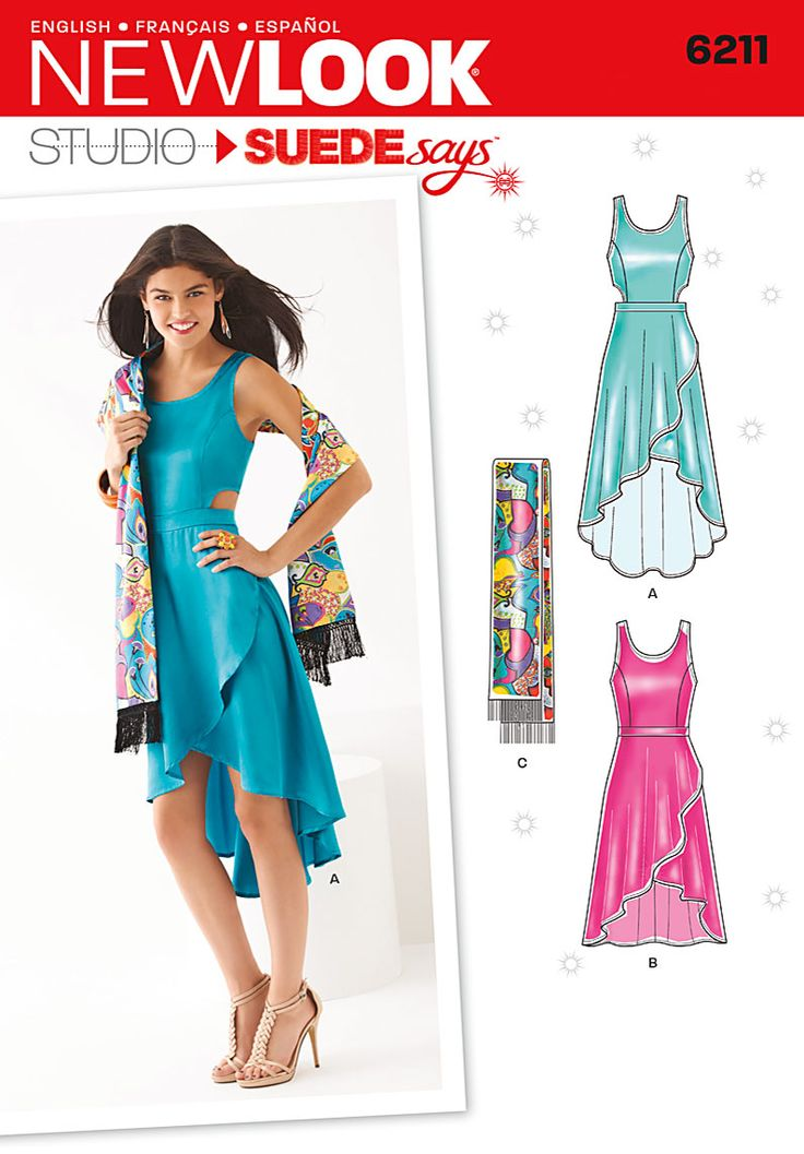 Simplicity Creative Group - Misses' Dress in Two Lengths