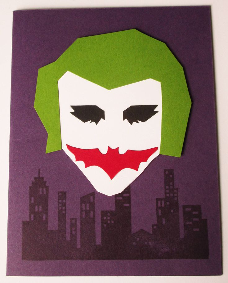 Excited to share the latest addition to my #etsy shop: Joker Card http://etsy.me/2nJGnOB  #jokercard #joker #batman #birthdaycard