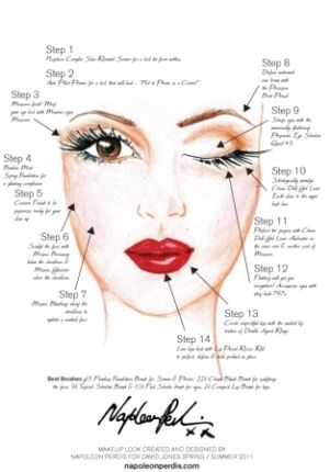 Old Hollywood makeup how-to