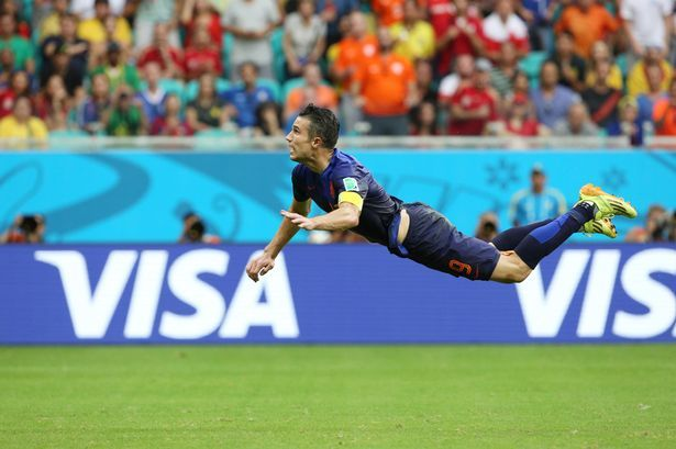 Watch: Van Persie up for FIFA goal of the year award - Manchester Evening News