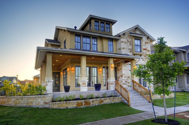 High End Stone Wall Nz House Exterior Design Ideas With Warm Lamp Can Add The Modern Touchh Inside House With Green Grass Arround House Design Ideas