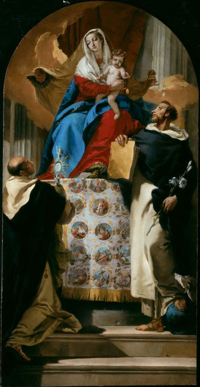Madonna and Child with Saints Dominic and Hyacinth, 1740 – 1750.