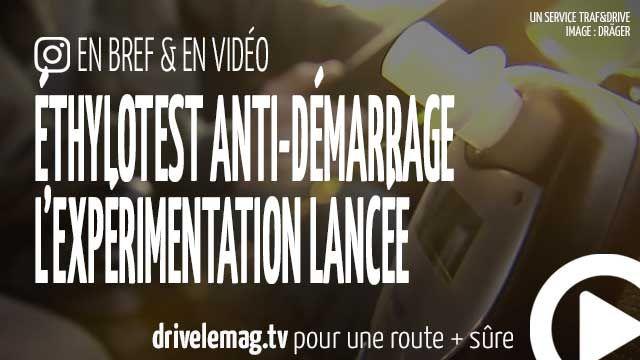 #VIDÉOBRÈVE #Éthylotest anti-démarrage : le test lancé: Après l'obligation pour les autocars, l'éthylotest… pour + d'infos/vidéo
