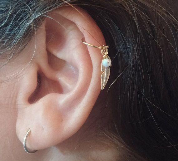 Hélice boucle d'oreille - Septum anneau - Piercing Helix Hoop - Septum Piercing - Cartilage Hoop - Piercing, bijoux de l'hélice, de la plume de l'hélice