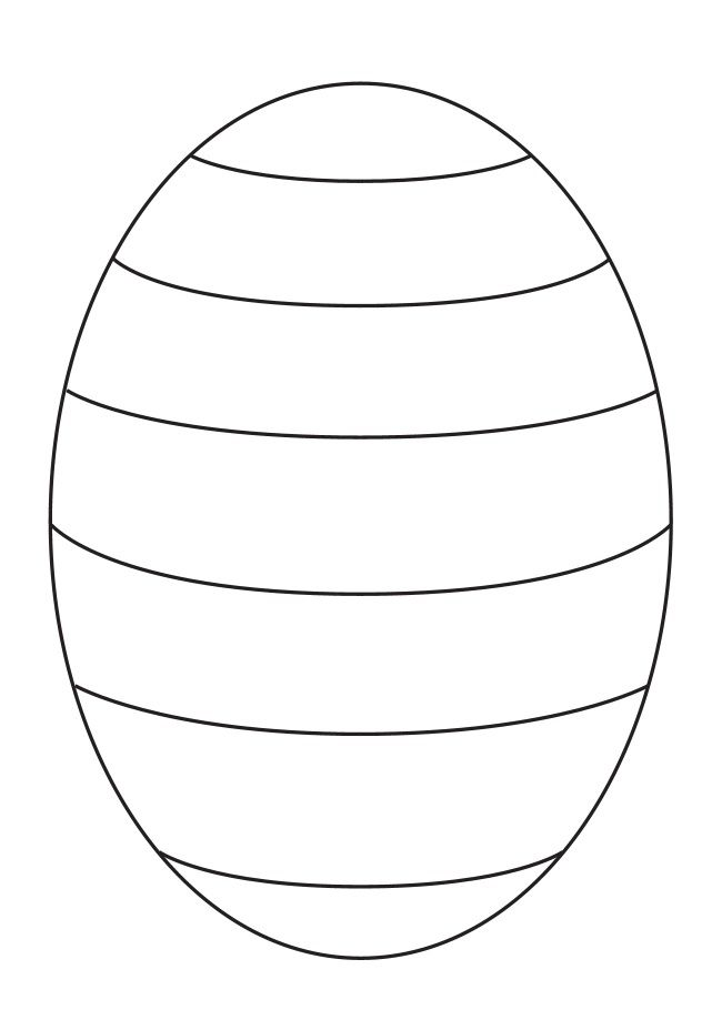 easter egg template - Google Search