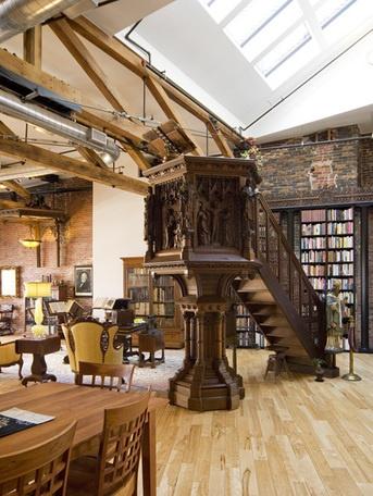 Portland, Maine arts district loft apartment ($900,000)