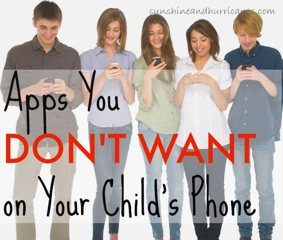 The Worst Apps for Kids - What Apps You Don't Want On Your Child's Phone