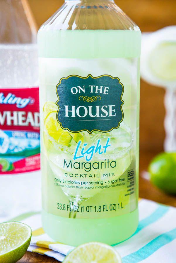 5-Calorie Raspberry Lime Margarita Fizz (non-alcoholic) - Easy Recipe at averiecooks.com