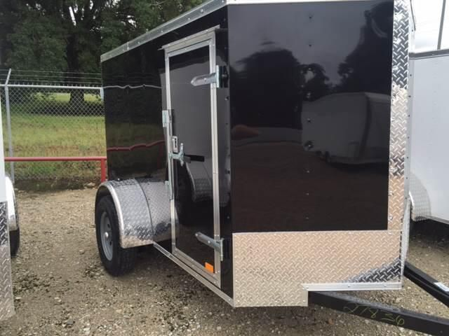 2017 Continental Cargo 5 X 8 SINGLE AXLE ENCLOSED TRAILER WITH DOORS | Countryside Trailer Sales -Trailers For Sale Trailers for Rent Trailer Repair service Storage Facility Trailer Dealer Spring Texas Dealer Flatbed, Gooseneck, Utility, Dump, Cargo, and Specialty