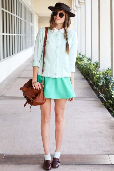 I'm in love with mint colours atm