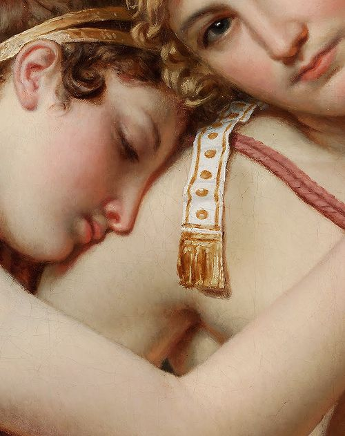 Jacques-Louis David (1748–1825) The Farewell of Telemachus and Eucharis (Detail) Oil on canvas, 1818
