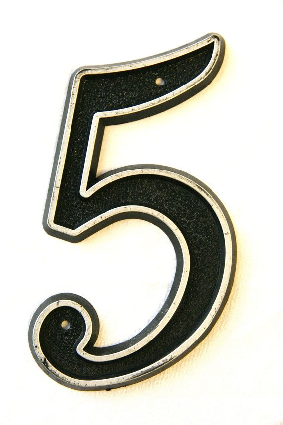 132 best no 5 images on pinterest letters lucky number for Best house number numerology