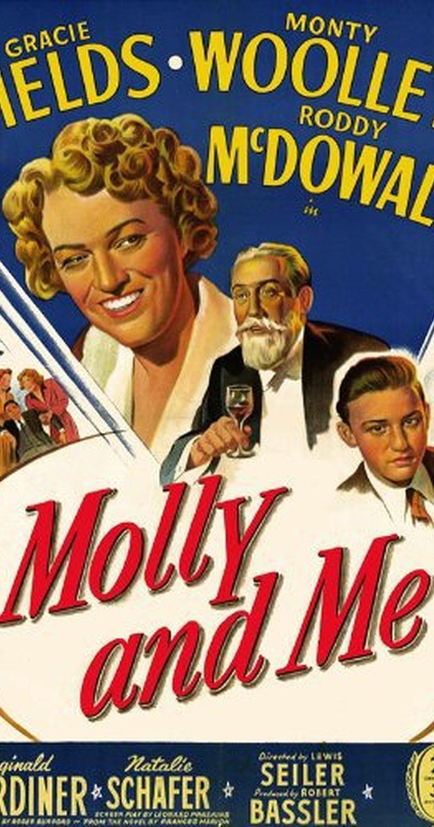 Directed by Lewis Seiler.  With Gracie Fields, Monty Woolley, Roddy McDowall, Reginald Gardiner. A vivacious actress needing work becomes a housekeeper for a crusty retired politician, and gives his life the shaking-up that it needs.