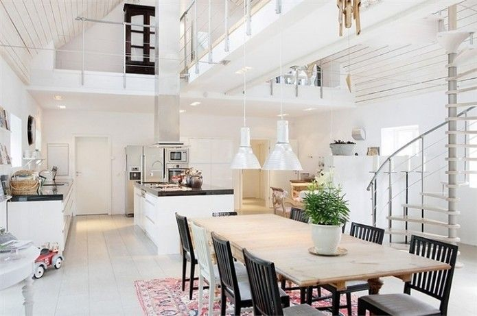 Different layout. La maison scandinave - Moody's Home.