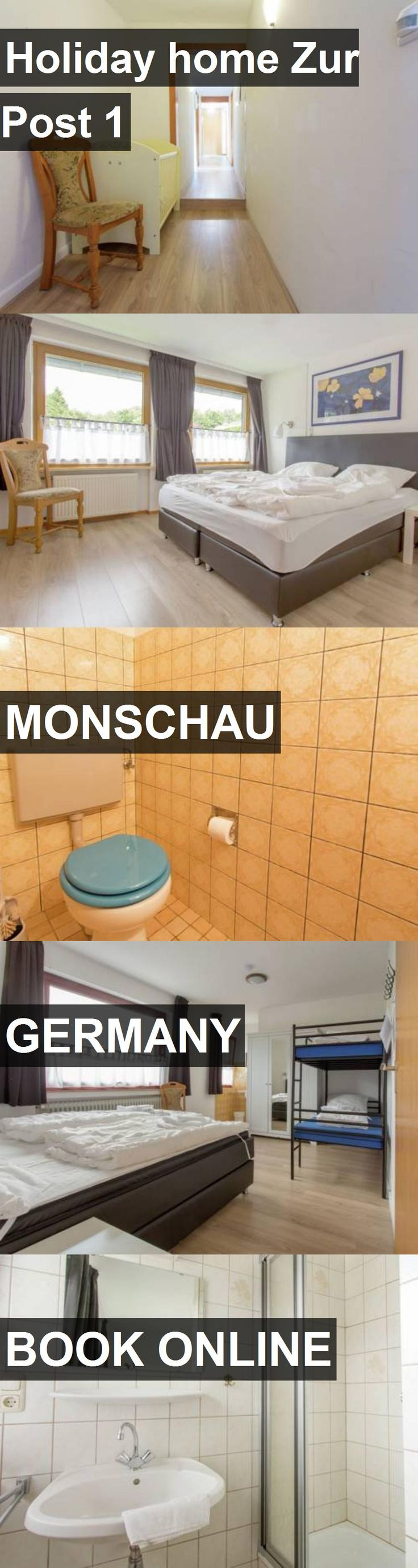 Hotel Holiday home Zur Post 1 in Monschau, Germany. For more information, photos, reviews and best prices please follow the link. #Germany #Monschau #travel #vacation #hotel