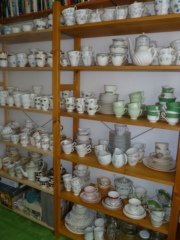Some of the vintage bone china available in Wokingham, Berkshire to add that special something to your event.