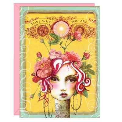 love who you are: Inspiration, Art Journals, Anahata Katkin, Papayaart, Roses, Card, Dr. Who, Papaya Art, Art Panels