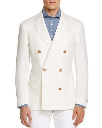 $Canali Kei Double Breasted Classic Fit Sport Coat - Bloomingdale's