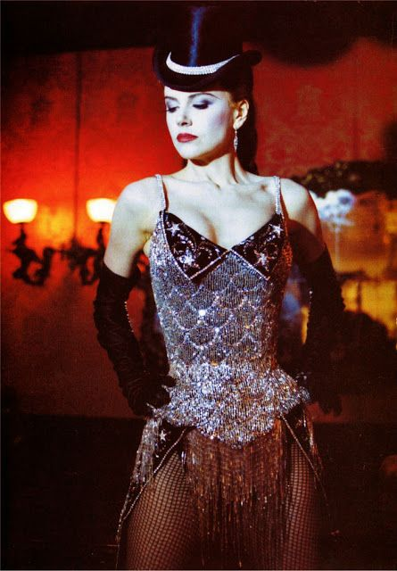 Satine (Nicole Kidman) in Moulin Rouge. One of my all time favorite movies. It has everything! Even Absinthe! ;p