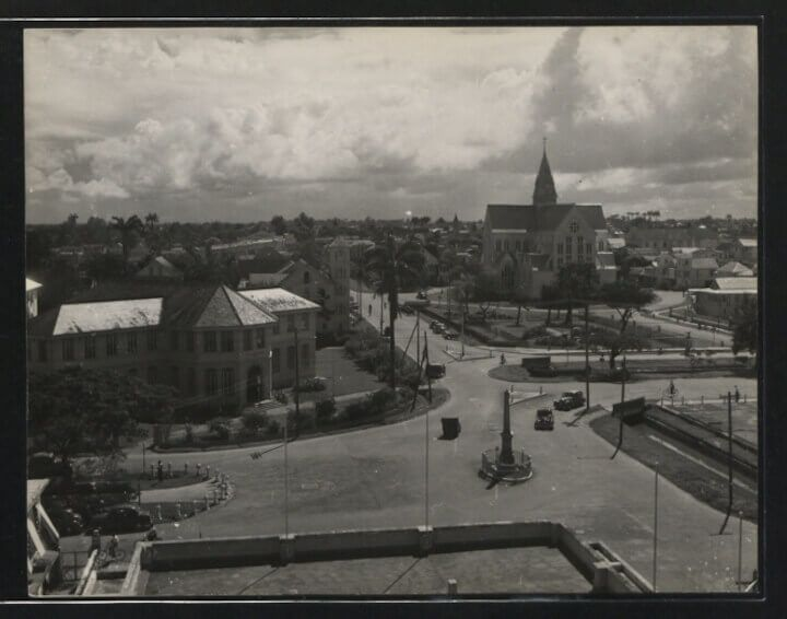 The National Archives UK, St. George's Cathedral, Georgetown, Guyana 1950-1959 #guyana #guyanese