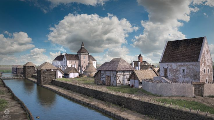 ArtStation - Nagykanizsa – rebirth of a forgotten castle, Balazs Tabanyi