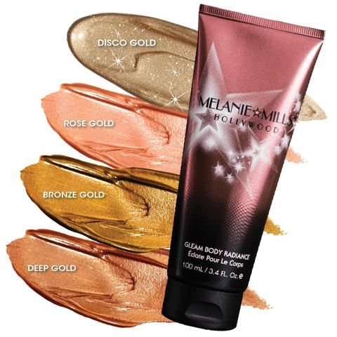 Melanie Mills Hollywood Gleam Body Radiance WANT IN ROSE GOLD